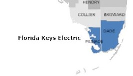florida keys electric counties