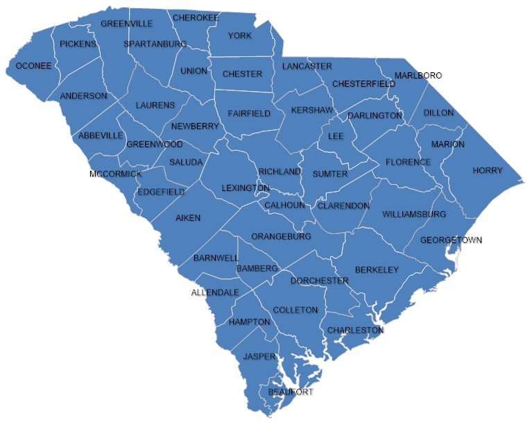 South Carolina all coops